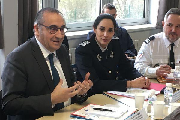 Le secrétaire d'État Laurent Nuñez, ce jeudi 30 janvier 2020.
