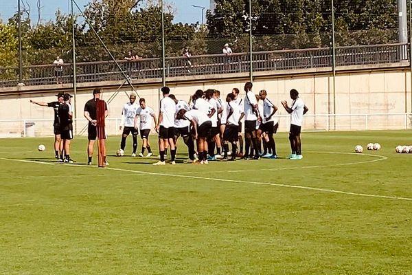 Toulouse - le TFC à l'entrainement - juillet 2021.