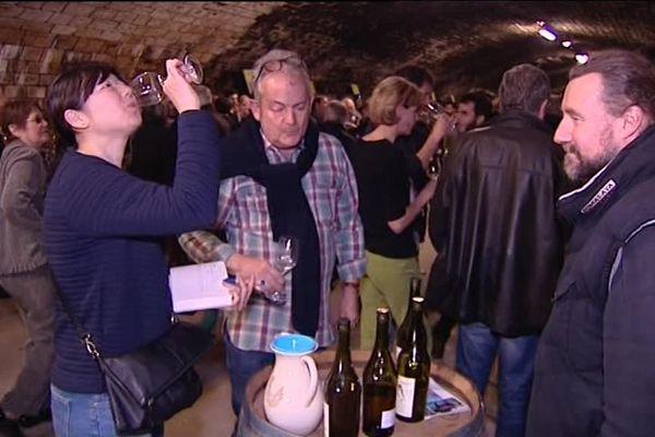 7 eme édition du Nez dans le vert, salon des vignerons bio du Jura