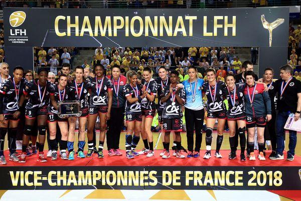 Les Brestoises ont tenu la dragée haute aux joueuses de Metz, mais n'ont pas réussi à obtenir mieux que la place de vice-championne.