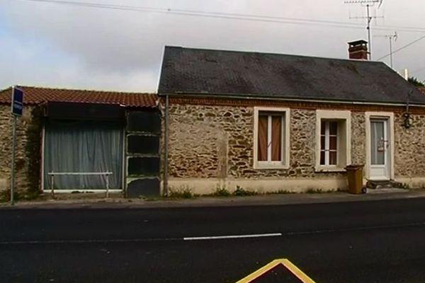 La maison du drame à  Saint-Georges-de-Pointindoux.