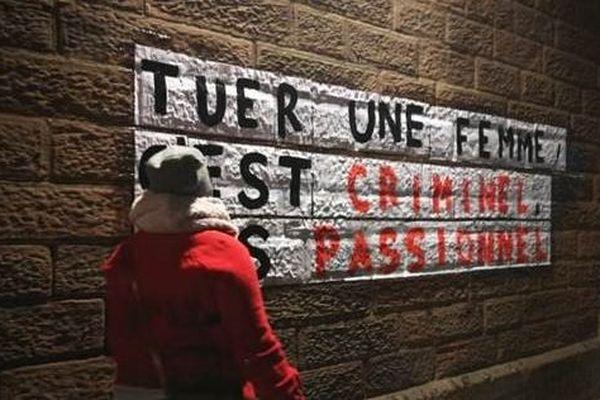 """Actions de l'association """"Osez le Féminisme ! 57"""" le 30 octobre 2019 à Metz."""
