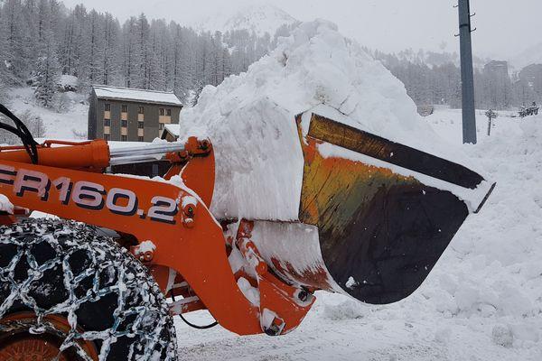 Le 27 janvier, il est tombé 25 cm de neige à Isola 2000