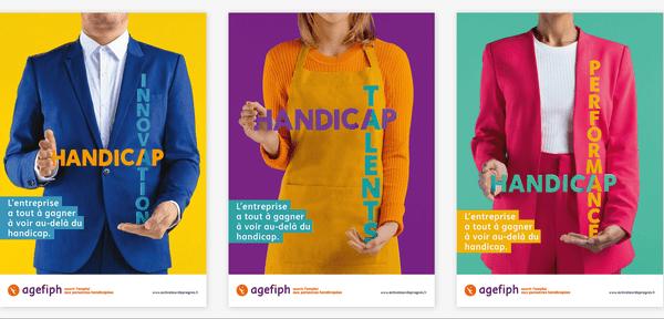 La nouvelle campagne de l'Agefiph pour promouvoir l'emploi des personnes handicapées