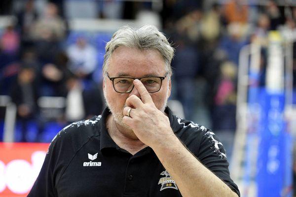 Nikola MATIJASEVIC entraîneur du Rennes Volley 35