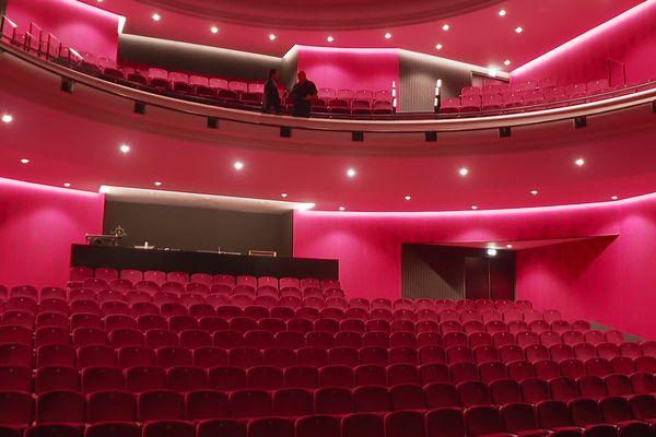 La salle du théâtre de Montélimar...