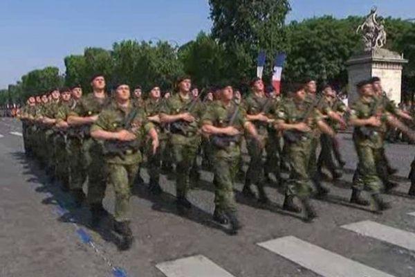 Parmi ces soldats, ceux du 3ème régiment de Hussards de Metz