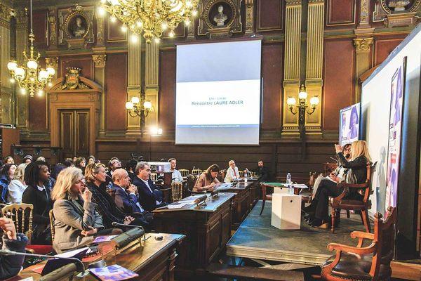 Conférence dans le cadre du Salon Profession' L, édition 2018