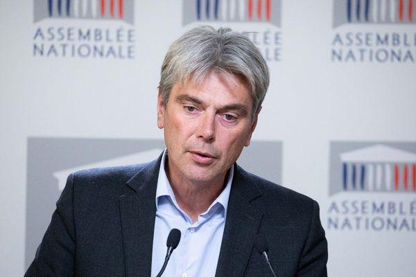 """Pour le député de Seine-Maritime, on a """"piétiné le dialogue républicain"""" dans ce dossier des éoliennes en mer"""