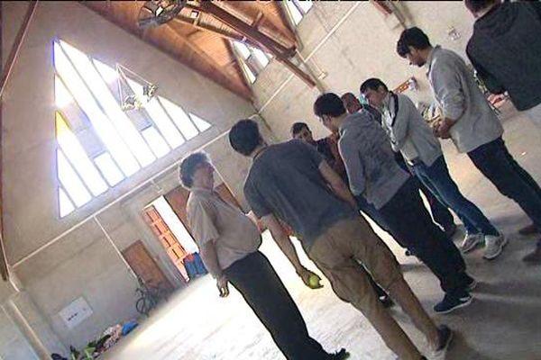 La chapelle héberge des demandeurs d'asile soutenus par l'association itinérance.