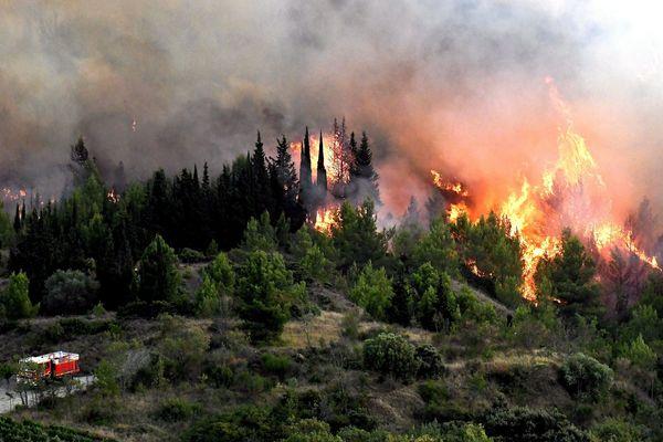 A l'aide de relevés GPS et de drones, le SDIS de l'Aude indique que 1103 hectares de végétation ont été détruits lors de l'incendie de Montirat, le 14 août.