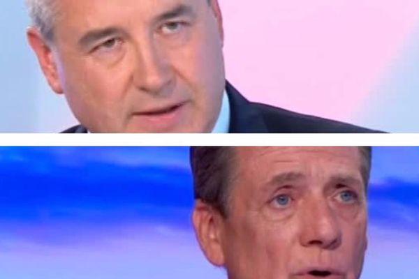 Frédéric Barbier et Denis Sommer, députés LREM du Doubs