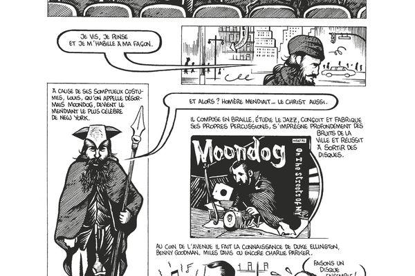 Moondog, le percussionniste viking devenu un clochard céleste