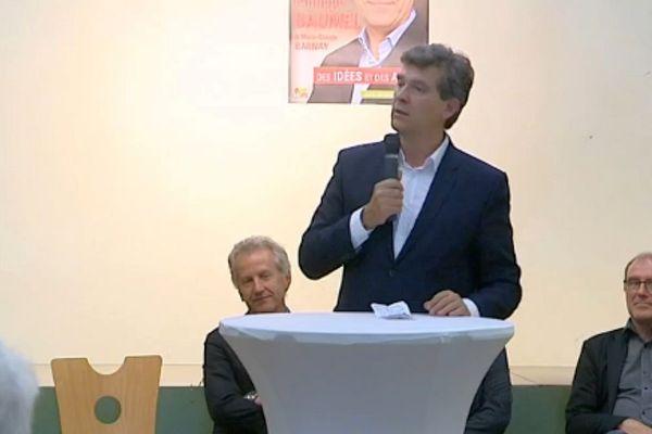 Montebourg soutient Baumel aux élections législatives
