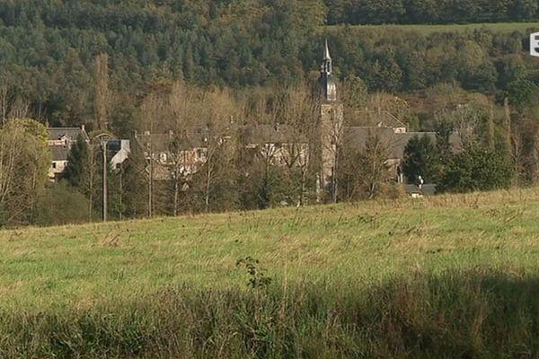 Le village de Lassy, près de Vire