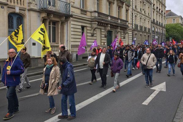 Des milliers de personnes ont répondu à l'appel de l'intersyndicale pour la défense des services publics à Rennes