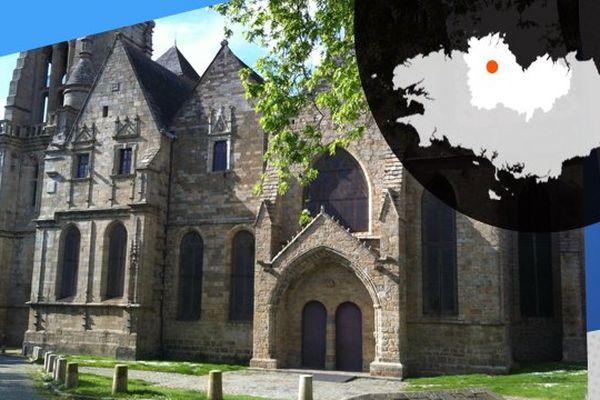 La cathédrale de Guingamp, symbole de la richesse de son patrimoine
