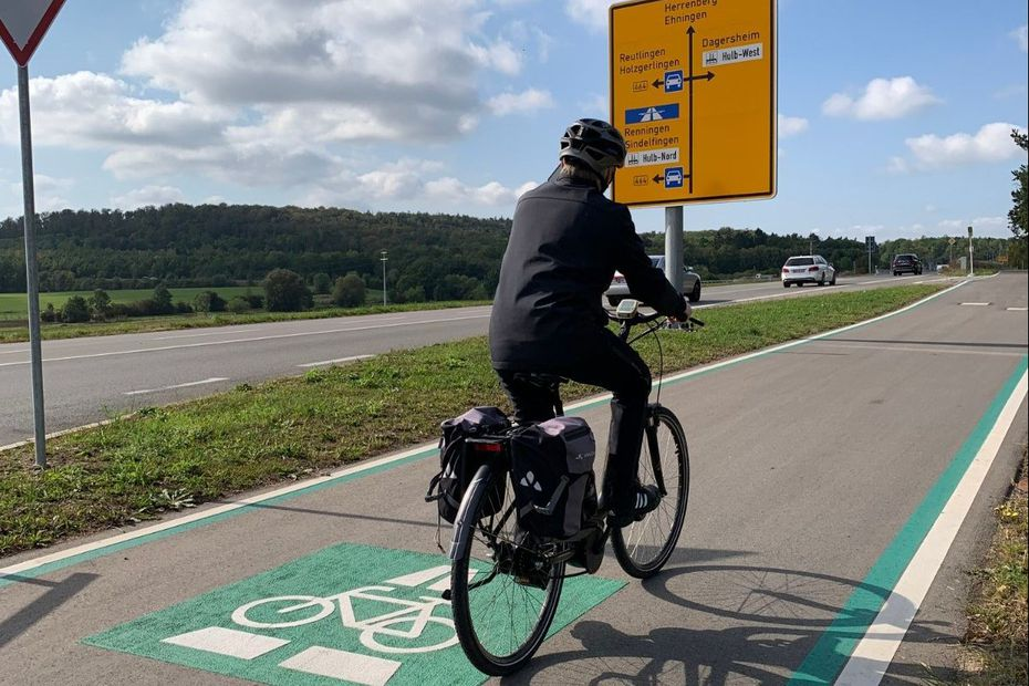 Allemagne : la première voie express pour vélos dans le Bade-Wurtemberg
