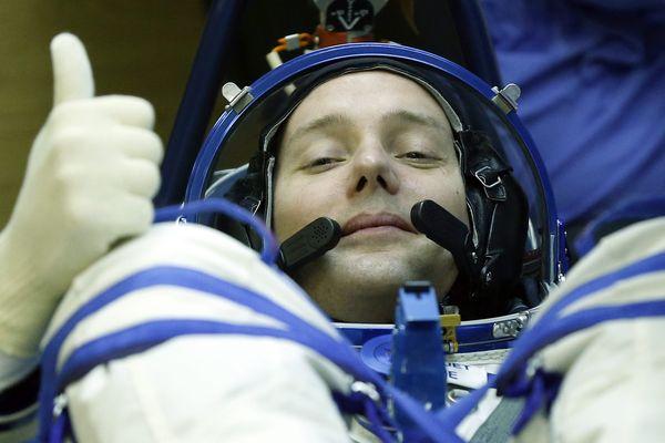 L'astronaute Thomas Pesquet a fait un beau cadeau aux Auvergnats en leur offrant une photo des Monts d'Auvergne, vus de la station internationale