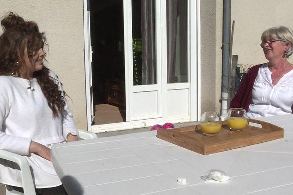 Claudine Deligne, infirmière au CH Henri Mondor d'Aurillac, a bénéficié d'un don de 1 500 heures de congé de la part de ses collègues pour rester auprès de sa fille Elisa, atteinte d'une leucémie.