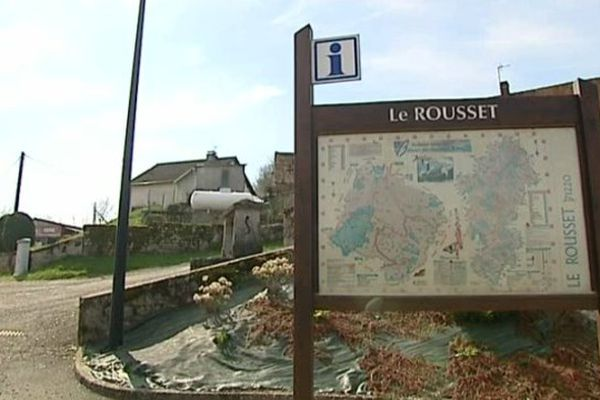 Le Rousset, viillage de Saône-et-Loire où souhaite s'implanter Center Parcs