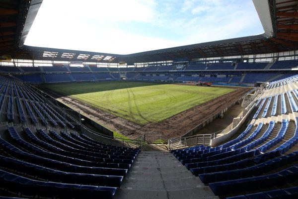 Le stade Bonal à Sochaux là où jouent le FC-Sochaux Montbéliard