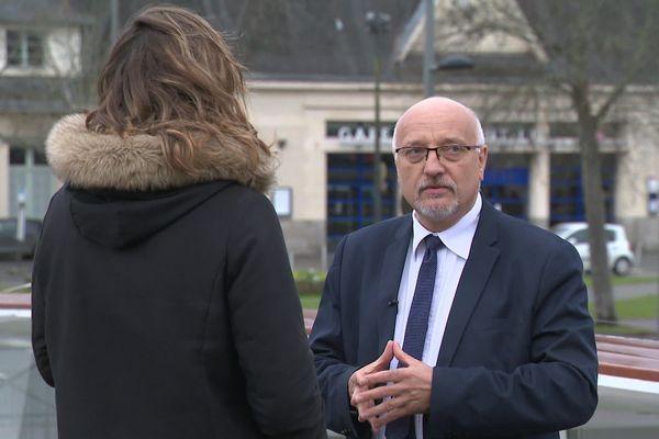 """Philippe Villeroy  candidat à Saint-Lô avec la liste """"L'énergie du renouveau"""""""