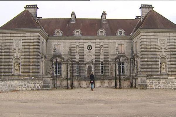 Le château des Granges Maillot près de Levier