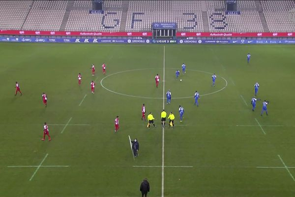 Grenoble/Dunkerque 15è journée de Ligue 2