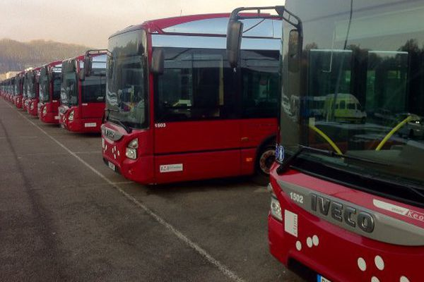 Grève des bus dans le Pays de Montbéliard