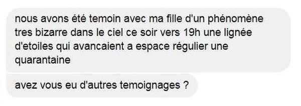 Un commentaire hier soir sur la page FB de France 3 Bourgogne