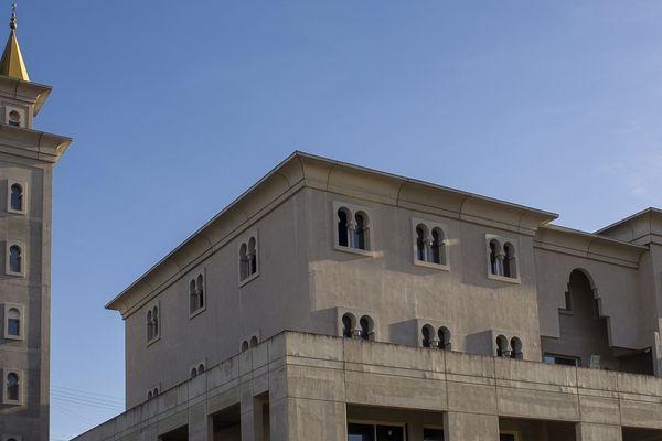 La mosquée de Poitiers.