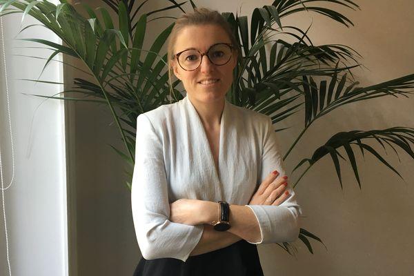 Annabelle Levitre, bénévole au sein de l'association Capital Filles.