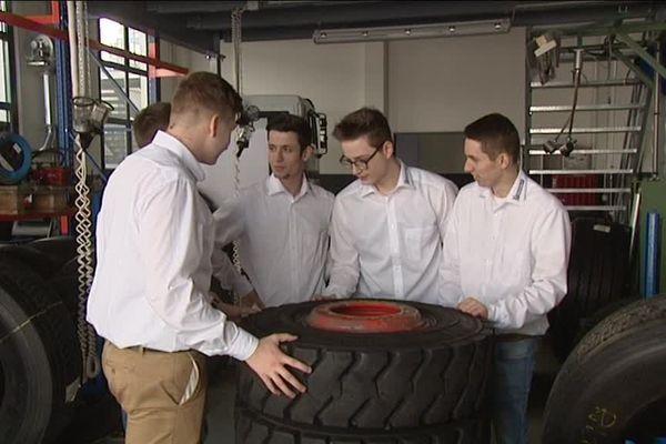 Réussir sans frontière, à l'usine Michelin de Karlsruhe