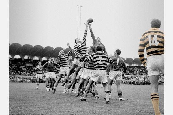 Le 2 juin 1963 : match Dax / Mont-de-Marsan