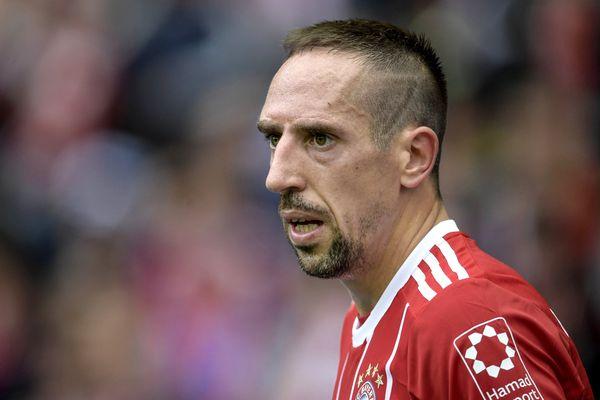 Franck Ribéry, le 1er octobre 2017.