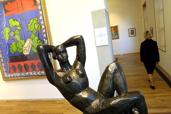 L'une des pièces du Musée Matisse au Cateau-Cambrésis
