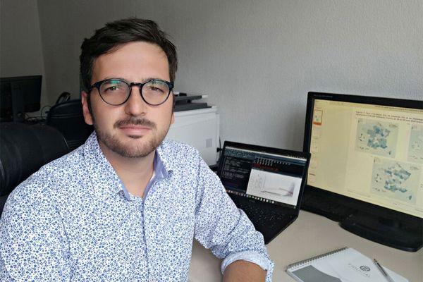 Mircea Sofonea, maître de conférences en épidémiologie et évolution des maladies infectieuses à l'université de Montpellier. 2021.