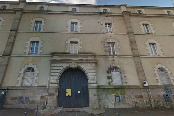 L'ancienne caserne Guillaudot à Rennes, propriété du département