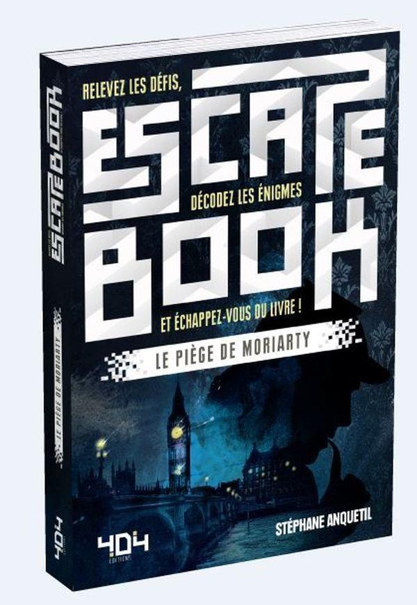 Le piège de Moriarty de Stéphane Anquetil