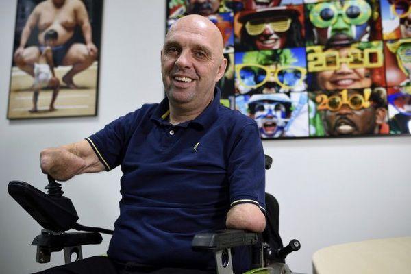 Philippe Croizon accumule les défis en dépit de son handicap.
