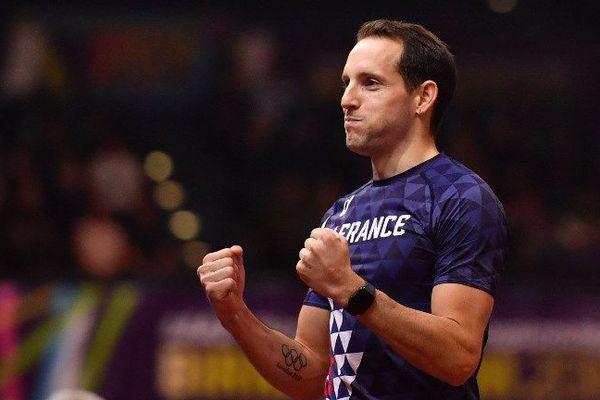 Renaud Lavillenie, triple champion du monde indoor.