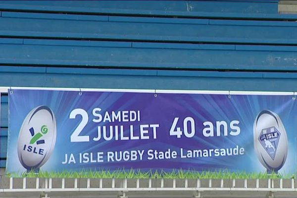 La JA ISLE Rugby fête ses 40 ans cette année.