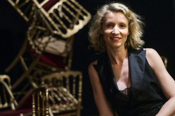 La comédienne Alexandra Lamy, formée au conservatoire de Nîmes - archives