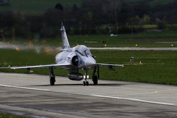 Mirage 2000-5F de l'Escadron de Chasse EC 1.2 «Cigognes».