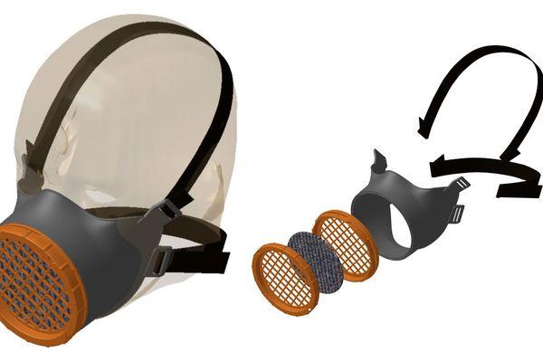 Appelé « OCOV® », entièrement développé et produit dans la région Auvergne-Rhône-Alpes en un temps record, ce masque est économique, durable et peut être fabriqué en grande quantité dans le cadre de la lutte contre le coronavirus COVID 19.