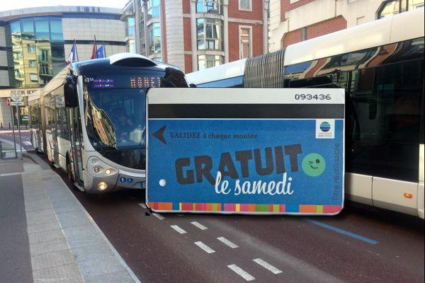 Les transports en commun de Rouen gratuits le samedi