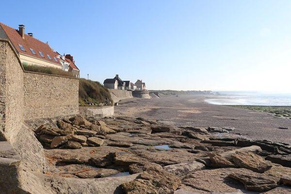 Le village d'Audresselles, dans le Pas-de-Calais, lieu très prisé des touristes.