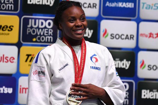 La judoka Madeleine Malonga remporte l'or aux mondiaux de Tokyo vendredi 30 août