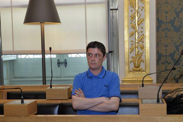 Daniel Legrand à la Cour d'Assises de Rennes.